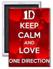 Keep Calm And Love One Direction – 1D Inspired Fridge Magnet