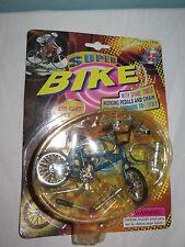 Die cast super vélo avec pneus de rechange pédales de travail et chaîne. nouveau sur carte