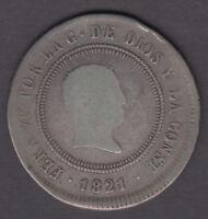 Devise 10 Reals Fernando VII - Année 1812 Bilbao Ug