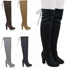 Essex Glam High Heel (3-4.5 in.) Faux Suede Boots for Women