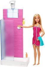 Barbie Shower Playset Kid Toy Gift