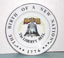 """The Birth Of A Nation """"The Liberty Bell"""" 1776 - 10 3/4"""" Collector'S Plate"""