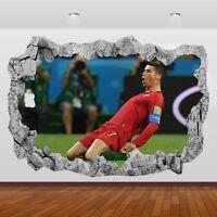 Cristiano Ronaldo Football Real Madrid Bedroom Art Wall View Sticker Poster 6-93