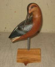 Vintage Original 1979 HOLGER SMITH Plover BIRD DECOY - Important Signed CAPE COD
