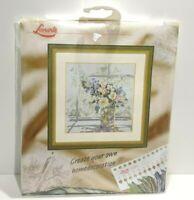 Lanarte Cross Stitch Kit Bouquet of Flowers 33877 NEW Complete