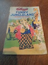 More details for 1932 kellogg's funny jungleland moving pictures advertising full colour book