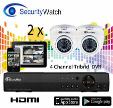 Surveillance HD X 2 CCTV System for Shop Business Home Security Online H.264 1TB