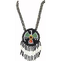 Native American Pendant Necklace Indian Fancy Dress Halloween Costume Accessory