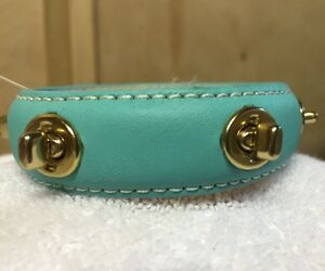 COACH  LEATHER GROMMET STUDDED BRACELET CUFF new with tags  hard to find style