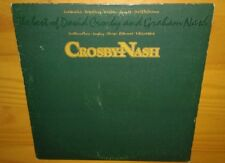 THE BEST OF CROSBY / NASH, 1978 VINYL LP (VG) cover VG+, Byrds, Hollies, CSNY