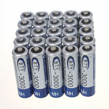 Hot 25XBTY 3000mAh 1.2V AA NiMH High Quality Rechargeable Battery for MP3 RC TOY