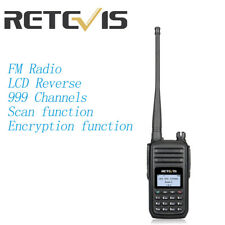Retevis RT80 DMR digital Mobile Radio 999CH VOX LCD FM Scan DCDM Two-Way Radios