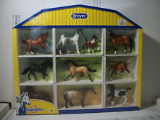 Breyer Stablemates Horse Lover's Collection Shadow Box  # 5425 10 Horses MIB