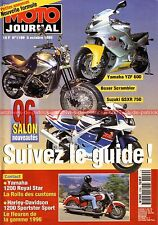 MOTO JOURNAL 1199 YAMAHA XVZ 1300 Royal Star HARLEY DAVIDSON XL 1200 Sportster