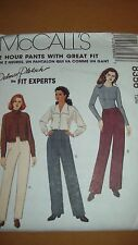 McCall's 8356 2 Hour Pants Size 16