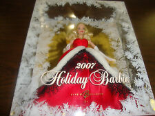 """Holiday Barbie---2007---12"""" Tall---Box Factory Sealed"""