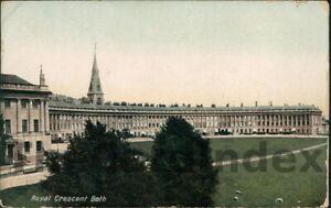 BATH Royal Crescent Postcard SOMERSET B. & D.