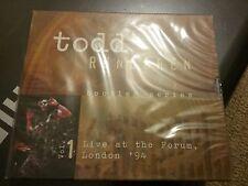 Todd Rundgren - Bootleg Series, Vol. 1 (Live at the Forum, London '94) 2CD. NEW