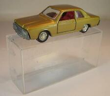 Schuco 1/66 Nr. 807 Ford 20m Limousine goldmetallic OVP #236