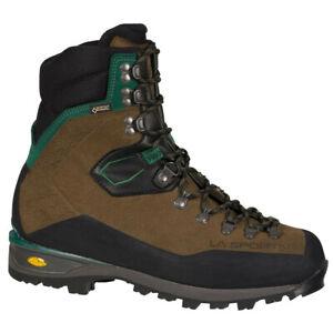 La Sportiva Karakorum HC GTX mocha/forest, chaussure d'alpinisme homme.