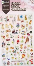 Daisyland Transparent Scrapbooking Sticker Sheet (Omnia Sol Temperat)~ KAWAII!!