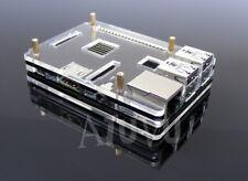 Boitier Transparent Noir pour Raspberry Pi 2 3 Design Acrylique RP2 B B+ RP3 T2