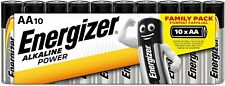Energizer AA Batteries, Alkaline Power Double A Batteries, 10 Pack