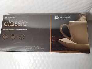 GANOCAFE CLASSIC WITH GANODERMA EXTRACT 30 SACHETS 06/2021 NEW