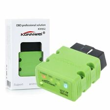 ELM327 Bluetooth OBD2 OBDII Android PC Car Diagnostic Interface Scanner Green
