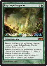 MTG REGALO PRIMIGENIO - Primeval Bounty - MAGIC 2014 ESPAÑOL