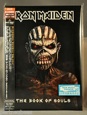 IRON MAIDEN The Book Of Souls DeLuxe Ed JAPAN 2 CD's BOOK SlipCase NEW 1st Press