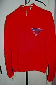 Vintage Spyder Slalom Protective Ski Racing Sweater Sweatshirt Padded Mens Small