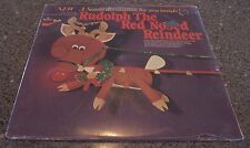 Rudolph the Red Nosed Reindeer SEALED NM LP W/SANTA DECORATION