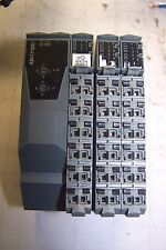 BR AUTOMATION X20 CP 0201 CPU WITH X20 DI 9372 X20 DO 8331 X20 PS 9500 X20 BM11