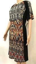 NWT✿GABBY SKYE✿Snake & Aztec Print DRESS~Size 6~Black-Brown~Poly/Spandex~NEW $88