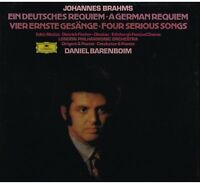Brahms: German Requiem (A Requiem German) / Daniel Barenboim, London - LP
