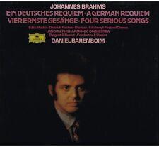 Brahms: German Requiem (Un Requiem Tedesco) / Daniel Barenboim, London - LP