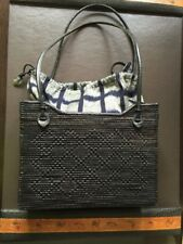 Two Cranes Inc - Ata Grass Handwoven Bag Bali Indonesia Weave Purse Tote Basket