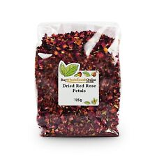 Dried Edible Rose Petals 125g - Buy Whole Foods Online - Free UK P&P