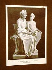 Il monumento alla Duchessa Capece Statua dello scultore A. Bortone del 1899