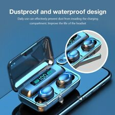 Bluetooth 5.0 Wireless Earphone 8D Bass Stereo With Microphone and Charging Case