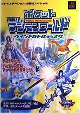 DIGIMON WORLD POCKET Wind Battle Disk Guide PS Book KB