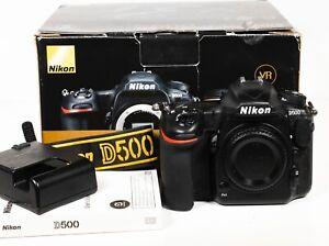 Nikon D500 20.9MP 4K Digital SLR Camera Body Only