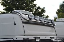 To Fit Scania P G R Series Pre 2009 Topline Steel Roof Light Bar + Flush LEDs x7
