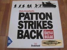 "Chris Crawford's Patton Strikes Back The Battle Of The Bulge - PC 3.5"" + Extras"