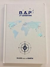 B.A.P 50,000 Miles On Earth 3rd Adventure DVD Photobook Yongguk Daehyun BAP RARE