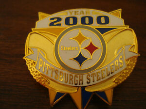 2000 Gold In Color Pittsburg Steelers Pin