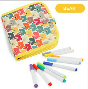 Kids Color Drawing Book Portable Erasable Board Painting Writing Pad Toy Gift