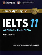 Cambridge English IELTS 11 GENERAL TRAINING with Answers @NEW@ 2016; Book only!