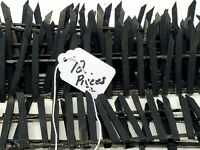 """Wood Fencing """"Halloween Fence"""" Seasonal Decor Accessories for Village Collection"""